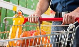 cart покупка человека Стоковое Изображение RF