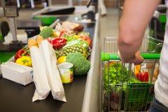 cart покупка человека Стоковые Изображения