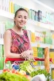 cart полная покупка Стоковое Изображение RF
