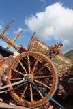 cart присицилийское стоковое фото rf