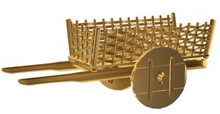Cart stock illustration