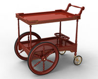 The cart Royalty Free Stock Images
