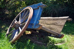 Cart. In french countryside during summer Stock Image