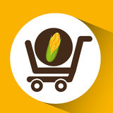 Cart Buy Cob Icon Design Royalty Free Stock Images