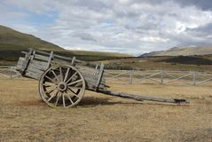 Cart in Chile Stock Photo