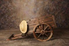 cart den västra vagnen Royaltyfria Foton