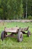 A cart in a farm stock photos