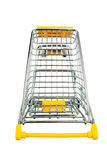 Cart in front of a white background Stock Photography