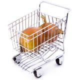 cart lökshopping Arkivbild
