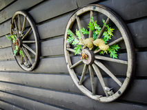 Cart la rotella Fotografia Stock