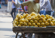 Cart of mangoes Royalty Free Stock Photography