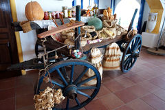Cart with national dishes Stock Photo