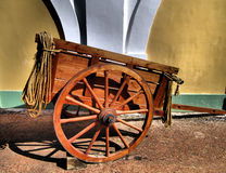 Cart and Rope Royalty Free Stock Photography