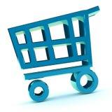 cart shopping Royaltyfri Illustrationer