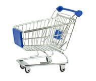 cart shopping Fotografering för Bildbyråer