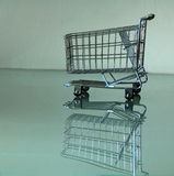 cart shopping Arkivbilder