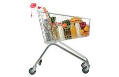 cart shopping Arkivbild