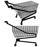 Cart For Shopping Vector 01 Stock Photography
