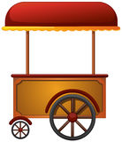 Cart stall. Illustration of a cart stall on a white background royalty free illustration