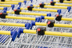 Cart supermarket Royalty Free Stock Images