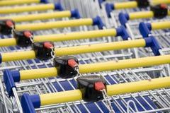 Cart supermarket Royalty Free Stock Photos