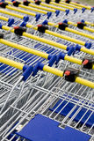Cart supermarket Royalty Free Stock Images