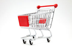 Cart supermarket Royalty Free Stock Photography