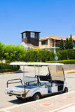 Cart in territory of hotel, Greece, Peloponnese Stock Images