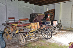 Cart used in olden days Royalty Free Stock Photo