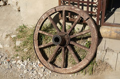 Cart wheel Stock Photography