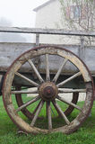 Cart-wheel. Royalty Free Stock Photo