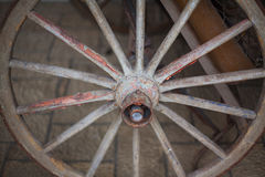 Cart-wheel. Royalty Free Stock Images