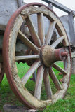 Cart-wheel. Royalty Free Stock Image