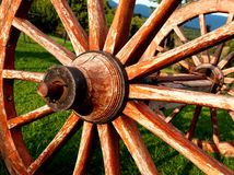 Cart wheels Royalty Free Stock Photography