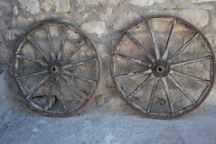 Cart-wheels Stock Image