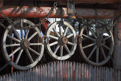 Cart-wheels. Royalty Free Stock Image