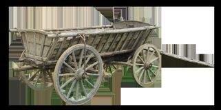 Cart, Wood, Middle Ages, Spokes Stock Photography