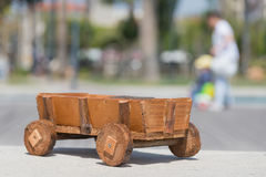 Cart wood Royalty Free Stock Photos