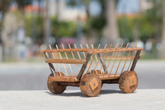 Cart wood Royalty Free Stock Photo