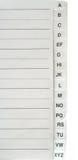 Carta-índice fotografía de archivo