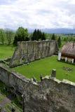 Carta, Румыния - 8 может 2016 - cistercian аббатство от Трансильвании Стоковые Изображения RF