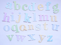 Carta ABC Immagini Stock