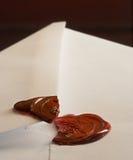 Carta abierta Imágenes de archivo libres de regalías