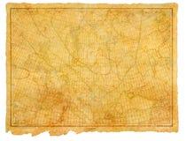Carta antiga 1910 do mar Foto de Stock