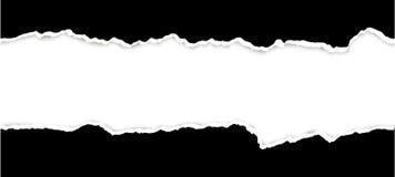 carta aperta strappata illustrazione di stock