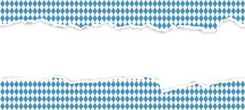 carta aperta strappata Oktoberfest royalty illustrazione gratis