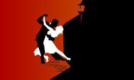 Carta appassionata di ballo illustrazione vettoriale