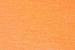 Carta arancio come fondo Immagini Stock