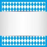 Carta bavarese Fotografie Stock
