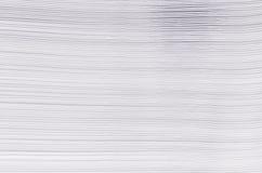 Carta bianca di struttura di pendenza a strisce, fondo astratto Fotografia Stock Libera da Diritti